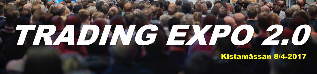 Tradingexpo 2.0 Kistamässan 2017