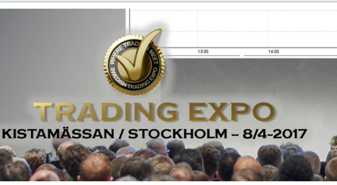 TradingExpo Kista nu på lördag